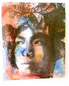 Silkscreen by Symon Bali